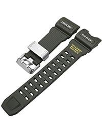 bced362f1e15 Deylaying Cinturino Orologio in Resina per Casio G-Shock Mudmaster Watch  GWG1000-1A3 -
