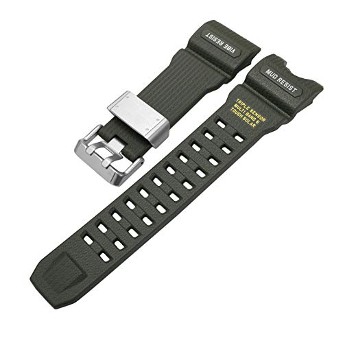 Poonkuos Correa de Repuesto Impermeable para Casio G-Shock Mudmaster Watch GWG1000-1A3 - Banda de...