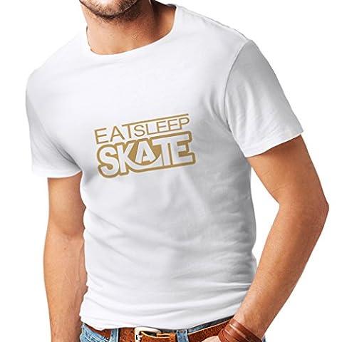 Männer T-Shirt Eat - Sleep - Skate - für Skater,