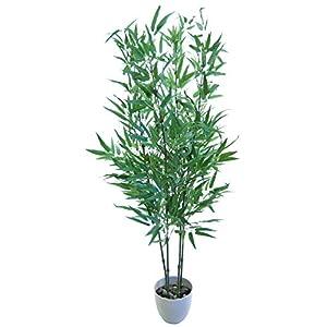 Maia Shop Bambú Artificial, Ideal para Decoración de Hogar, Árbol Artificial, Planta Artificial (150 cm, Cañas Verdes)