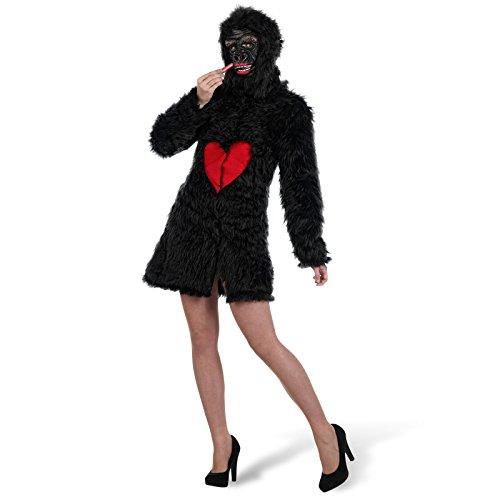 Limit Sport-Mantel Sexy-Kostüm Gorilla, für Erwachsene, Größe M (ma698)