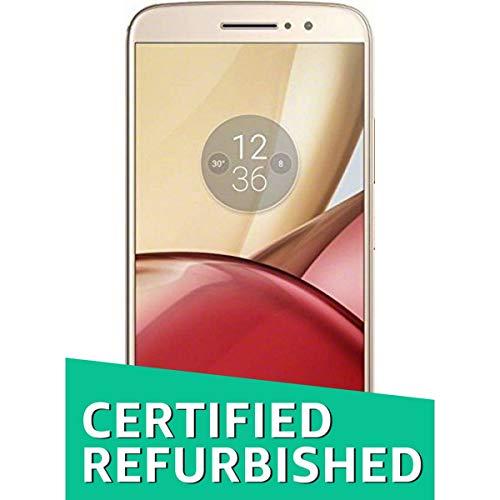 (Certified REFURBISHED) Motorola Moto M XT1663 (Gold, 64GB)