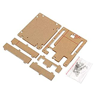 MYAMIA 5Pcs Transparent Acrylic Shell Box For Arduino Uno R3 Module Case