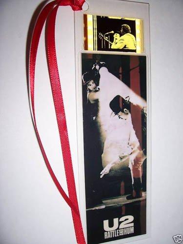 U2 Bono Edge Rock Lesezeichen, mit Filmabschnitt Rock Lesezeichen