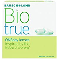 Biotrue One Day Lenses RX 90 Pack Contact Lenses Power, -3.50