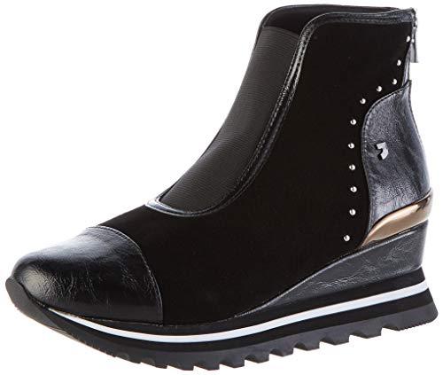 Gioseppo 56907, Zapatillas Altas para Mujer, Negro Negro Negro, 39 EU