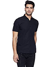 Lee Men's Solid Slim Fit Casual Shirt - B078HWDVR1