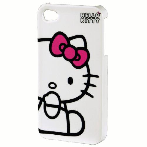 Hello Kitty Handy-Cover für Apple iPhone 4/4S weiß