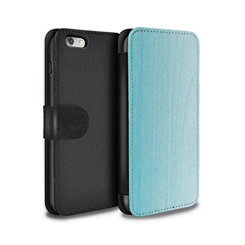 Stuff4 Coque/Etui/Housse Cuir PU Case/Cover pour Apple iPhone 5C / Ombre Bois Design / Mode Sarcelle Collection Ombre Bois