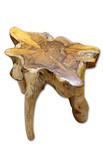 Kinaree Holz Beistelltisch Teak Wurzelholz Massivholz Podest Mekong Blumenständer