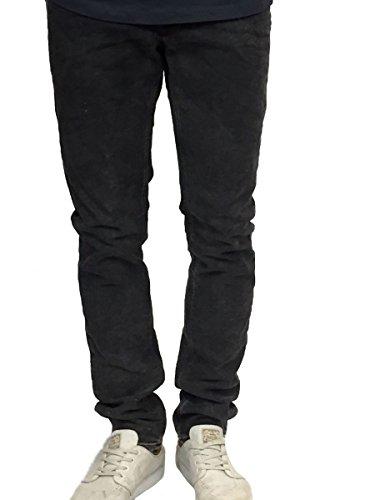 Gabba Herren Vintage Jeans Hose anthrazit slim fit Anthrazit