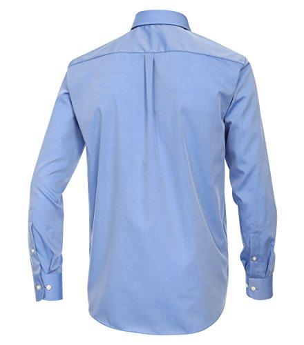 Casa Moda - Comfort Fit - Bügelfreies Herren Business Langarm Hemd verschiedene Farben (006060) Blau (13)