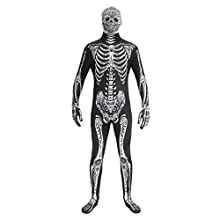 Morphsuits MPDD2 186 - 206 cm Day of the Dead Fancy Dress Costume (2X-Large)