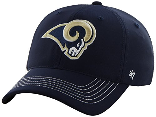 47 Brand NFL Game Time Closer Stretch Fit Cap, Herren, Light Navy