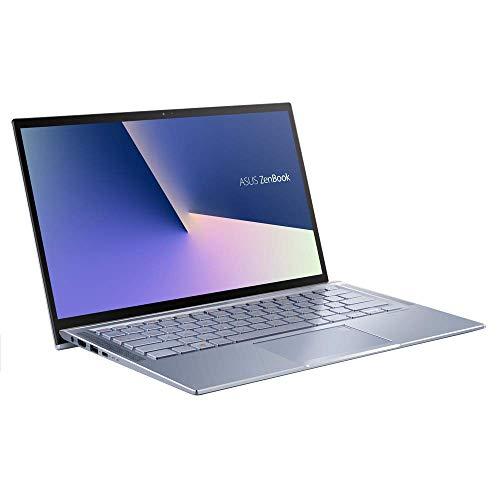ASUS ZenBook 14 UM431DA (90NB0PB3-M00940) 35,5 cm (14 Zoll, Full HD, matt) Ultrabook (AMD R5-3500U, AMD Radeon Vega 8 Graphics, 8GB RAM, 512GB SSD, Windows 10) Silver Blue