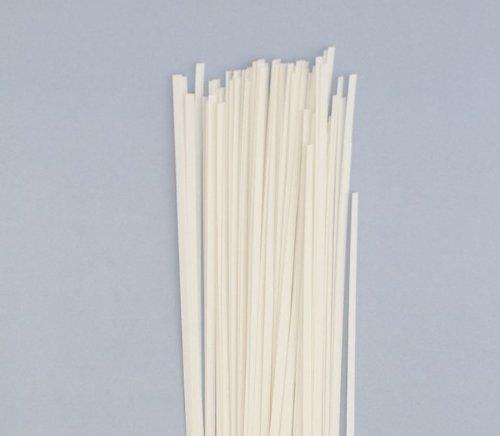 Karen Marie Klip: Quilling Papierstreifen Natur Weiß, 5x450mm, 120 g/m2. 300 Streifen BIG PACK -