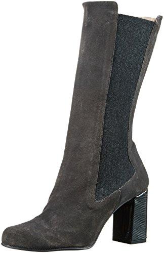 Paco Gil Damen P3150 Chelsea Boots Grau (Grigio/Argento)