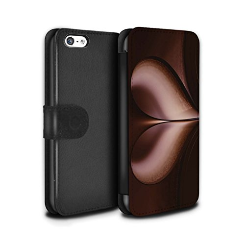 Stuff4 Coque/Etui/Housse Cuir PU Case/Cover pour Apple iPhone 5C / Tunnel Amour Design / Art Abstrait Collection Tunnel Amour