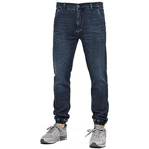 Pantalones Reell – Jogger Pant azul/gris talla: 33 Usa – 43 España (Hombre)