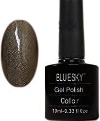 Bluesky UV LED Gel Soak Off Nail Polish, Autumn Mauve