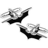 Yellow Chimes Superhero Batman Stainless Steel Cufflinks for Men and Boys
