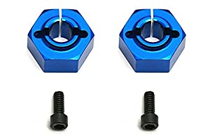 Team Associated ae9890-12mm Aluminum Clamping Wheel hexes, Buggy Traseros