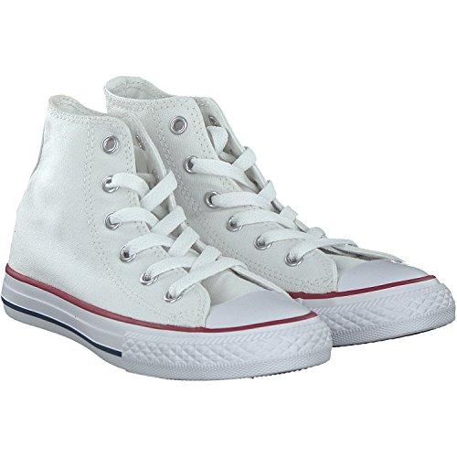 Weiß Converse Mädchen High-tops (Converse Mädchen Sneakers Chuck Taylor All Star High Top Weiss (100) 35)