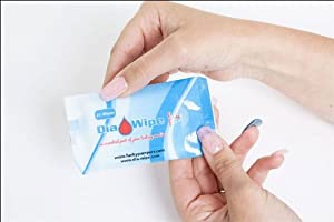 Diabetes finger testing wipes 25 wipes x 20 packets