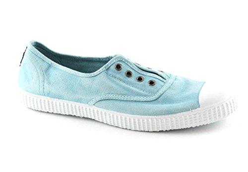 CIENTA Azul Bleu Unisexe lac élastique Chaussures en Tissu