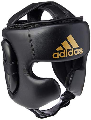 Adidas Speed Sparring - Protector de Cabeza para Entrenamiento de Boxeo, Color Negro, tamaño Medium