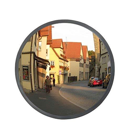 DXP Sicherheitsspiegel 30cm Kassenspiegel Konvex Innen Aussen Panoramaspiegel Konvexspiegel Überwachungsspiegel CGJJ01