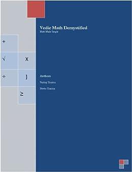 Vedic Math Demystified by [Sharma, Neetu , Sharma, Pankaj]