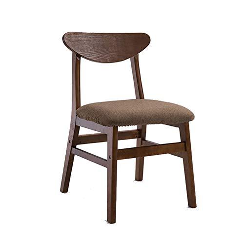 ch-AIR Esszimmerstühle/Bürostuhl / Frühstück Hocker/Hocker / Holzsitz, Bequeme Rückenlehne/Baumwolle Kissen, für Ankleideraum/Arbeitszimmer / Wohnzimmer/Esszimmer, 7 Farben