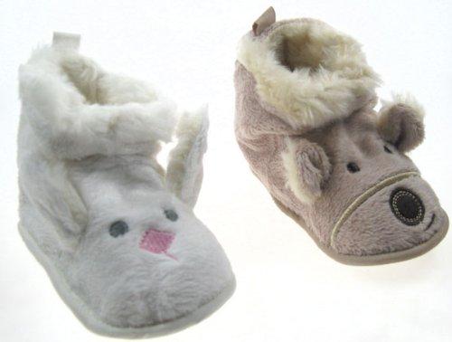 Monate Snowsuit Baby Mädchen Weiß Krabbelschuhe 9 6 Beige Puschen amp; PvPrqw84