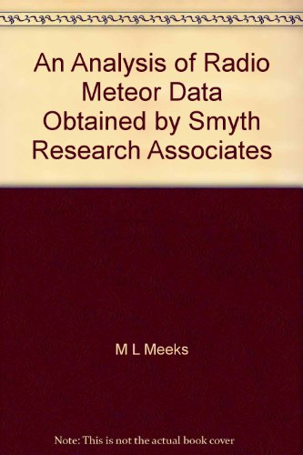 An Analysis of Radio Meteor Data Obtained by Smyth Research Associates