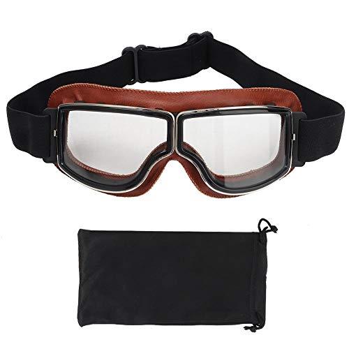 Tbest Fahrrad Schutzbrille Fahren Sonnenbrille Vintage Sportrille Anti-Wind Anti-Sand Radbrille Augenschutzbrille Männer und Frauen Skibrille für Motorrad Fahrrad Skifahren Skaten Augenschutz(4#)