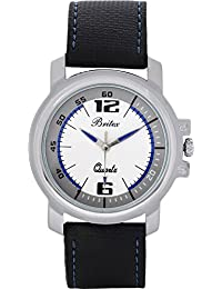 Britex Round Shape White Dial Analog Watch For Men/Boys - (BT3082)