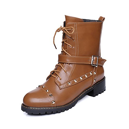 allhqfashion-womens-zipper-round-closed-toe-low-heels-pu-low-top-boots-yellow-34