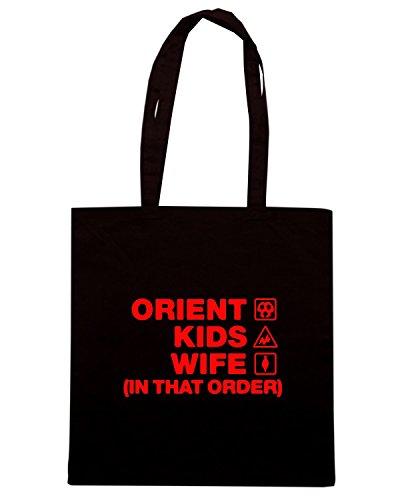 T-Shirtshock - Borsa Shopping WC1183 orient-kids-wife-order-tshirt design Nero