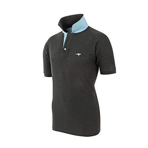 KangaROOS Herren Poloshirt in verschiedenen Farben und Größen Anthrazit