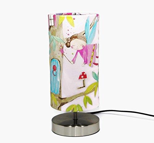 fairy-lamp-lampshade-light-shade-girls-bedroom-woodland-deer-animals-tree-house-childrens-kids-baby-