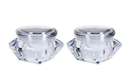 2pcs-10-ml-vuoto-quadrangle-acrilico-cosmetici-crema-lozione-barattolo-contenitore-con-rivestimento-