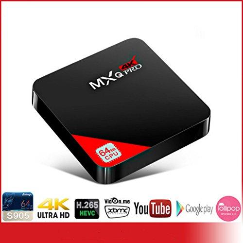 buibao MXQ Pro 4K 3d android 5. 1Smart TV Box Amlogic S905Quad Core 1GB 8GB Wi-Fi