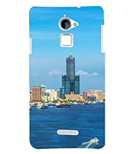 PRINTSHOPPII NATURE BUILDING Back Case Cover for Coolpad Note 3 Lite