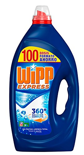 Wipp Express Detergente Líquido Azul - 100 Lavados (5 l)