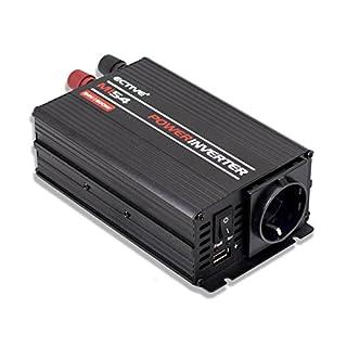 ECTIVE 300W 12V zu 230V MI-Serie Wechselrichter mit modifizierter Sinuswelle in 7 Varianten: 300W - 3000W