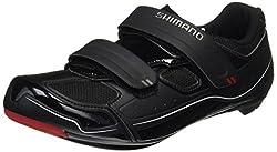 SHIMANO SH-R065L, Unisex-Erwachsene Radsportschuhe - Rennrad, Schwarz (Black), 44 EU