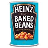 #2: Heinz Beanz Baked Beans in Rich Tomato Sauce (Pack of 2), 415g