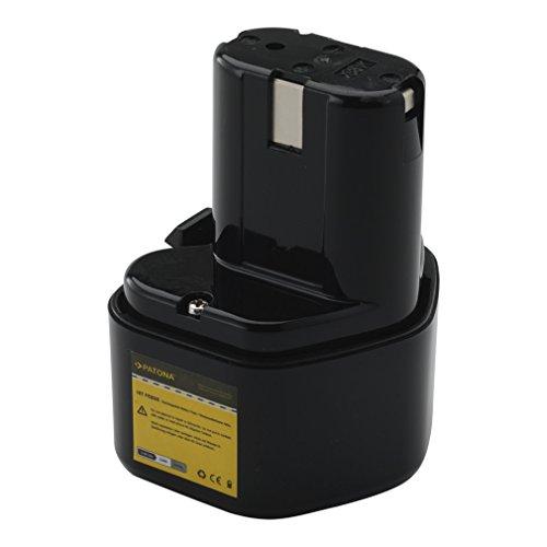 Bateria FEB9S Ni-MH 3000mAh 9,6V para Hitachi D10DD | DC10DG/K-S | D10DH | D10DF2 | D10DJ | DS10DT |...
