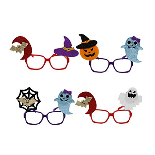 lloween Brille Brillen mit Hexe Ghost Bat Kostüm Cosplay Brillen für Halloween Party Favors Supplies ()